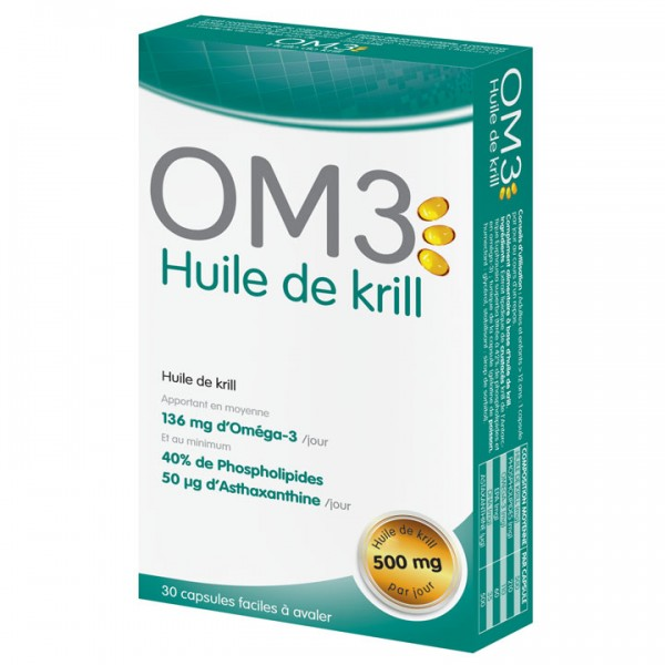 OM3 huile de krill